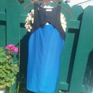 UO Silence+Noise Cut Out Mini Sheath Dress